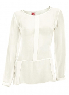 Chiffonbluse, creme von Travel Couture by H****