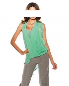 2-in-1-Bluse, mint