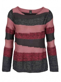 Grobstrickpullover, bunt von H**** - Best Connections
