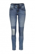 Damen-Jeans, blau-used, 30 inch von CROSS