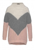 Pullover »Rancho«, rosé-grau von Blue Fire Co.